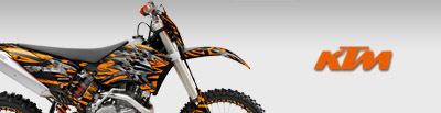 KTM DIRT BIKE GRAPHICS
