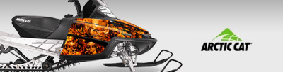 ARCTIC CAT SNOWMOBILE GRAPHICS