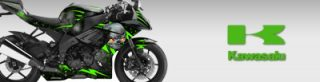Kawasaki Sport Bike Graphics