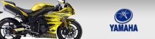 Yamaha Sport Bike Graphics