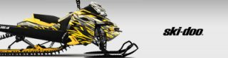 Ski-Doo Snowmobile Graphics