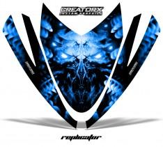 Arctic-Cat-M-Series-Crossfire-Hood-CreatorX-Graphics-Kit-Alien-Replicator-Blue