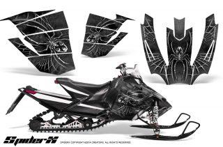 Arctic-Cat-SnoPro-Race-CreatorX-Graphics-Kit-SpiderX-Silver
