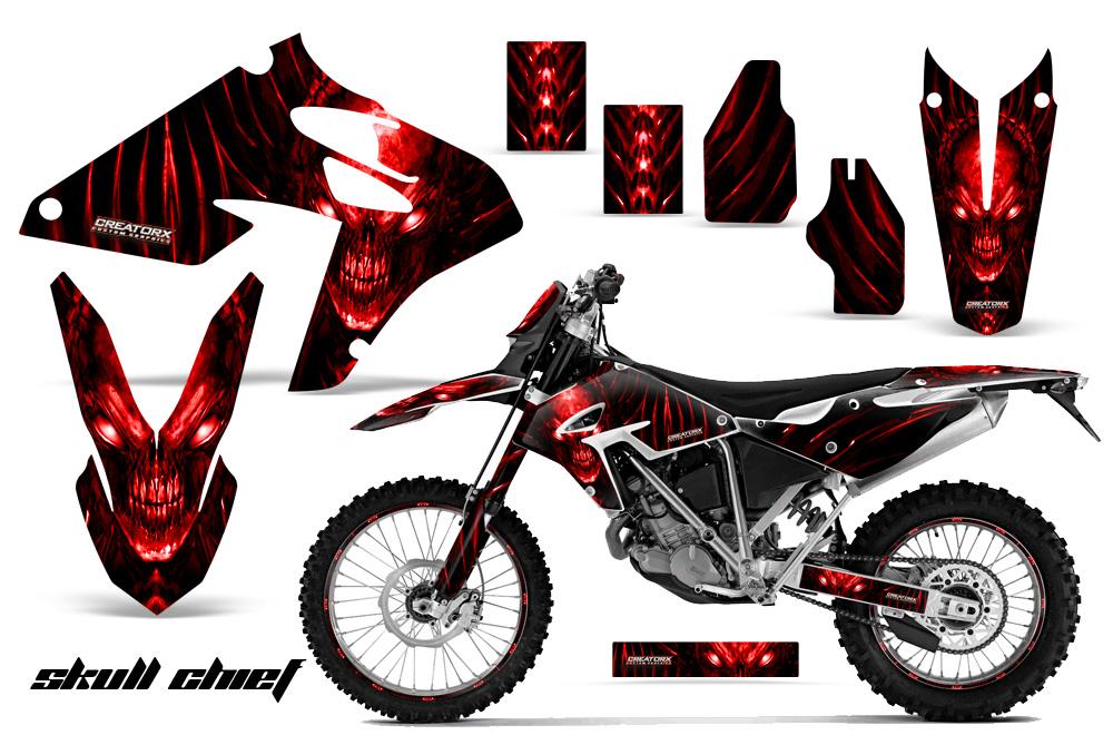 Graphics For Dirt Bike Skull Graphics Wwwgraphicsbuzzcom - Decal graphics for dirt bikes