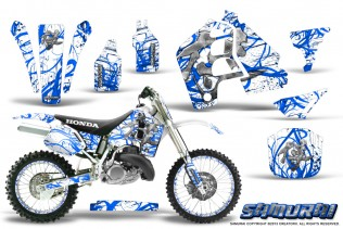 Honda-CR500-CreatorX-Graphics-Kit-Samurai-Blue-White-NP-Rims