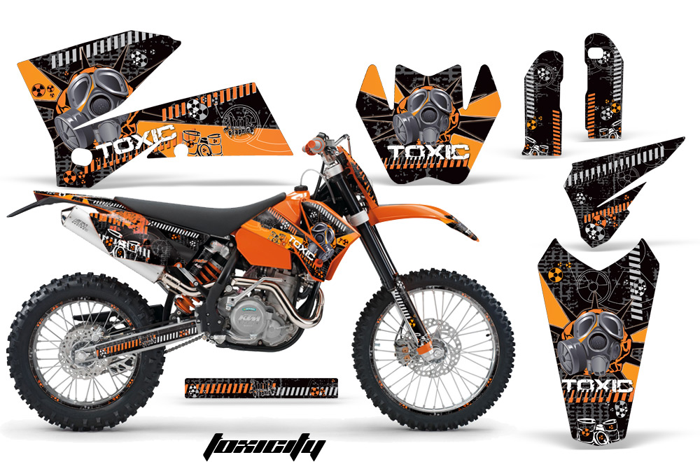 Ktm 450 Exc Graphics Kit Ktm c4 Amr Graphics Kit