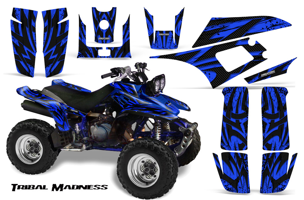 Yamaha Warrior  Graphics CREATORX Graphics MX  ATV Decals - Decal graphics