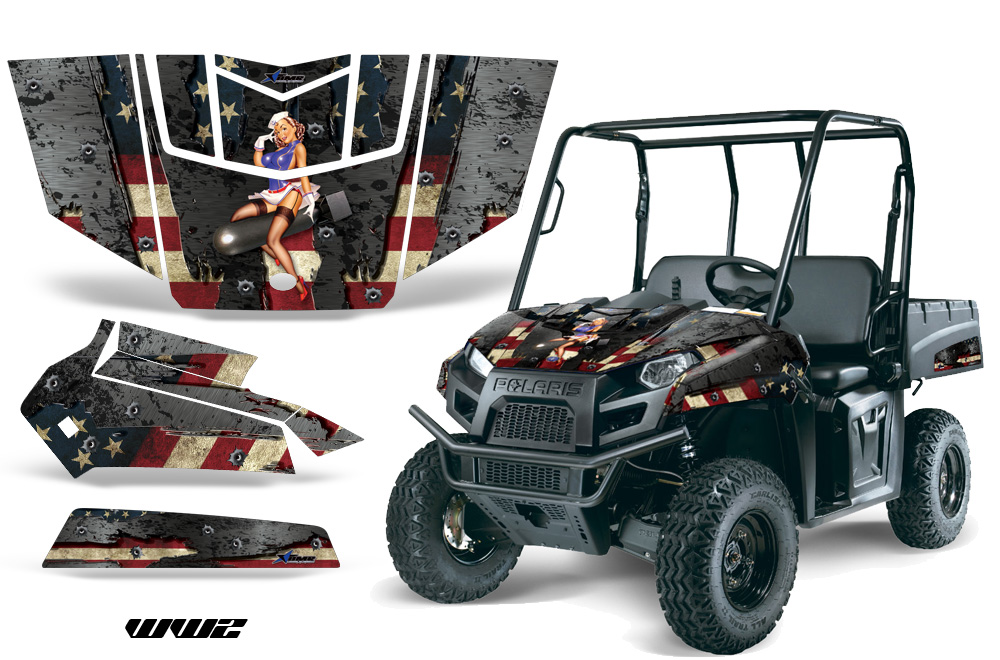 Polaris Ranger Ev Electric 2009 2014 Graphics Creatorx