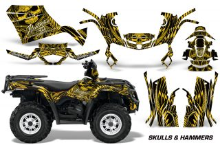 Can-Am Outlander 400 Graphics 2009-2014