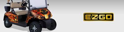 EZ-GO GOLF CART GRAPHICS