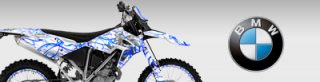 BMW Dirt Bike Graphics