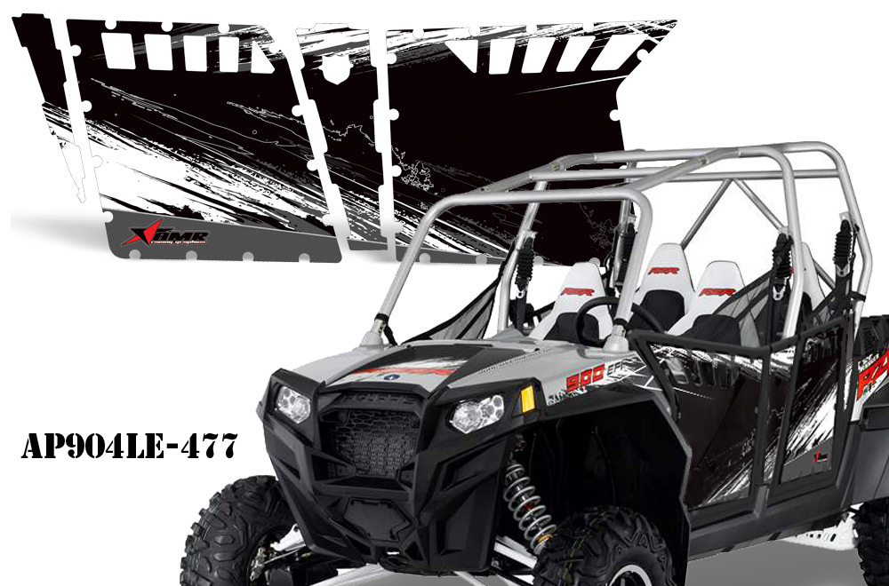 Polaris RZR 900 XP 4 Door Graphics for Pro Armor Doors