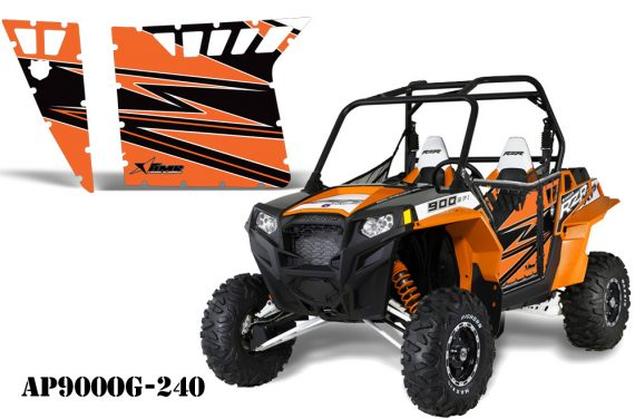 AMR PA OEM 900 Orange AP900OG 240 570x376 - Polaris RZR 900 XP Graphics for Pro Armor Doors