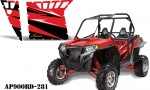 AMR PA OEM 900 Red AP900RD 281 150x90 - Polaris RZR 900 XP Graphics for Pro Armor Doors
