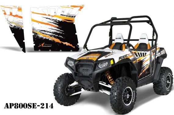 AMR PA OEM Orange RG AP800SE 214 570x376 - Polaris RZR-S 800 Graphics for Pro Armor Doors