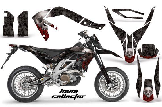 Aprilia SXV450 08 BoneCollector Black1 570x376 - Aprilia SXV RXV 450 5.5 Graphics