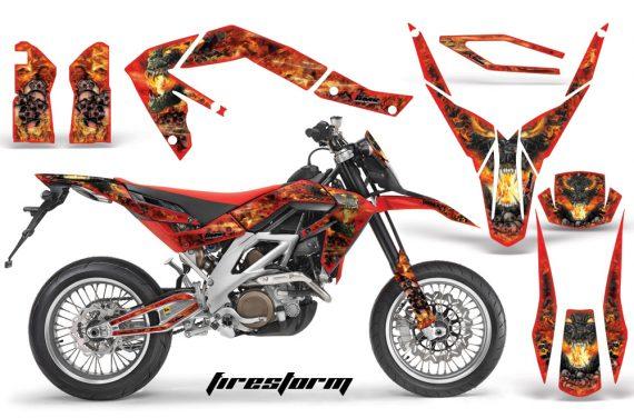 Aprilia SXV450 08 Firestorm Red 570x376 - Aprilia SXV RXV 450 5.5 Graphics