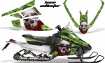 Arctic Cat F Series AMR Graphics BoneCollector Green 150x90 - Arctic Cat F Series F Series Z1 Bearcat 2000 Lynx Graphics