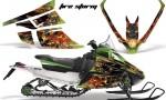 Arctic Cat F Series AMR Graphics Firestorm Green 150x90 - Arctic Cat F Series F Series Z1 Bearcat 2000 Lynx Graphics
