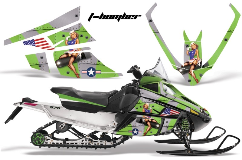 Arctic-Cat-F-Series-AMR-Graphics-Tbomber-Green
