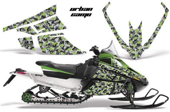 Arctic Cat F Series AMR Graphics UrbanCamo Green 570x376 - Arctic Cat F Series F Series Z1 Bearcat 2000 Lynx Graphics