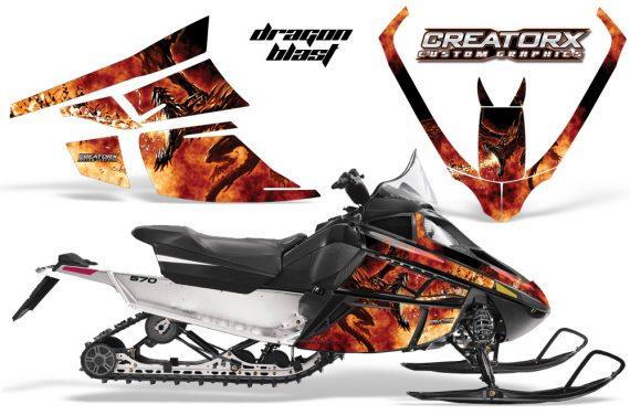 Arctic Cat F Series CreatorX Graphics Kit Dragonblast 570x376 - Arctic Cat F Series F Series Z1 Bearcat 2000 Lynx Graphics