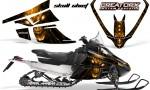Arctic Cat F Series CreatorX Graphics Kit Skull Chief sm Orange 150x90 - Arctic Cat F Series F Series Z1 Bearcat 2000 Lynx Graphics