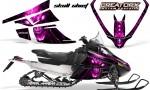 Arctic Cat F Series CreatorX Graphics Kit Skull Chief sm Pink 150x90 - Arctic Cat F Series F Series Z1 Bearcat 2000 Lynx Graphics
