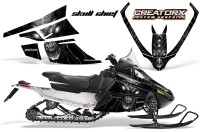 Arctic-Cat-F-Series-CreatorX-Graphics-Kit-Skull Chief-sm-Silver