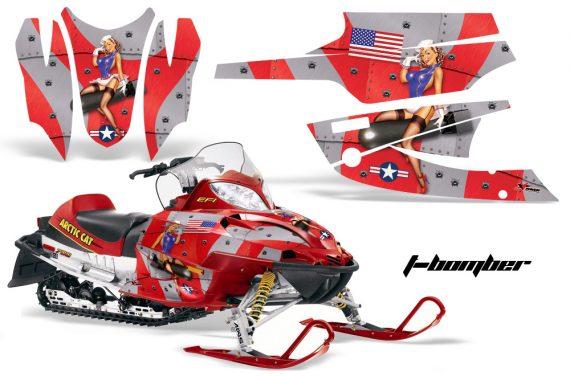 Arctic Cat Firecat AMR Graphics Kit TB R 570x376 - Arctic Cat Firecat Sabercat F5 F6 F7 2003-2006 Graphics