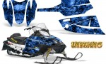Arctic Cat Firecat CreatorX Graphics Kit Inferno Blue 150x90 - Arctic Cat Firecat Sabercat F5 F6 F7 2003-2006 Graphics