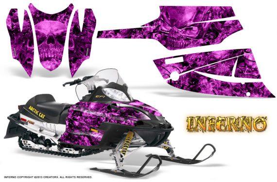 Arctic Cat Firecat CreatorX Graphics Kit Inferno Pink 570x376 - Arctic Cat Firecat Sabercat F5 F6 F7 2003-2006 Graphics