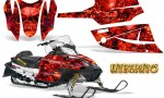 Arctic Cat Firecat CreatorX Graphics Kit Inferno Red 150x90 - Arctic Cat Firecat Sabercat F5 F6 F7 2003-2006 Graphics