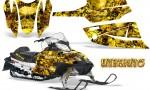 Arctic Cat Firecat CreatorX Graphics Kit Inferno Yellow 150x90 - Arctic Cat Firecat Sabercat F5 F6 F7 2003-2006 Graphics