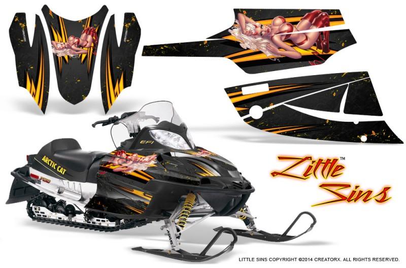 Arctic-Cat-Firecat-CreatorX-Graphics-Kit-Little-Sins-Black