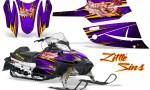 Arctic Cat Firecat CreatorX Graphics Kit Little Sins Purple 150x90 - Arctic Cat Firecat Sabercat F5 F6 F7 2003-2006 Graphics