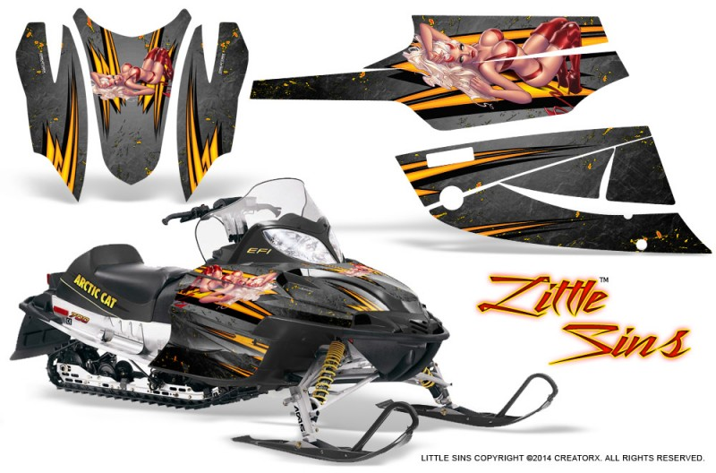 Arctic-Cat-Firecat-CreatorX-Graphics-Kit-Little-Sins-Silver