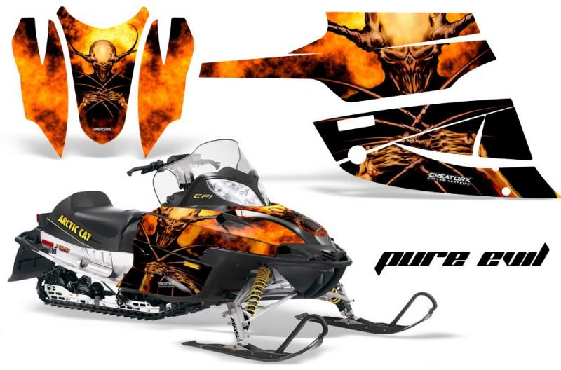 Arctic-Cat-Firecat-CreatorX-Graphics-Kit-Pure-Evil