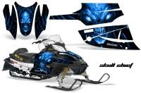 Arctic-Cat-Firecat-CreatorX-Graphics-Kit-Skull-Chief-Blue-Black
