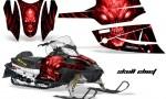 Arctic Cat Firecat CreatorX Graphics Kit Skull Chief Red Black 150x90 - Arctic Cat Firecat Sabercat F5 F6 F7 2003-2006 Graphics