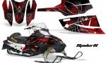 Arctic Cat Firecat CreatorX Graphics Kit SpiderX Red Black 150x90 - Arctic Cat Firecat Sabercat F5 F6 F7 2003-2006 Graphics