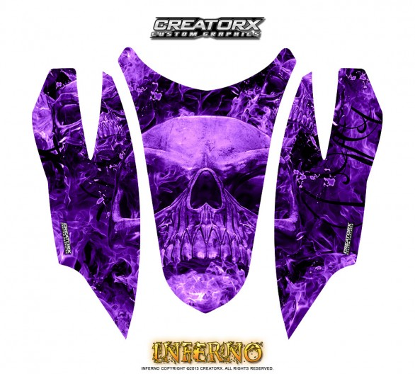 Arctic-Cat-Firecat-Hood-CreatorX-Graphics-Kit-Inferno-Purple