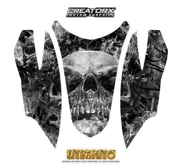 Arctic-Cat-Firecat-Hood-CreatorX-Graphics-Kit-Inferno-Silver