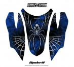 Arctic-Cat-Firecat-Hood-CreatorX-Graphics-Kit-SpiderX-Blue