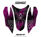 Arctic-Cat-Firecat-Hood-CreatorX-Graphics-Kit-SpiderX-Pink