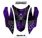 Arctic-Cat-Firecat-Hood-CreatorX-Graphics-Kit-SpiderX-Purple