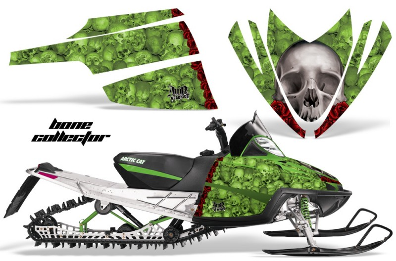 Arctic-Cat-M-Series-AMR-Graphics-Kit-BONECOLLECTOR-GREEN