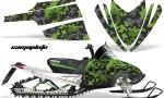 Arctic Cat M Series AMR Graphics Kit CAMOPLATE GREEN 150x90 - Arctic Cat M Series Crossfire Graphics
