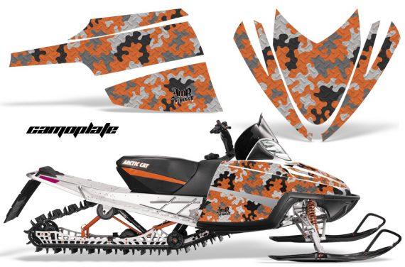 Arctic Cat M Series AMR Graphics Kit CAMOPLATE ORANGE 570x376 - Arctic Cat M Series Crossfire Graphics