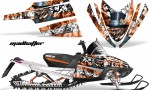 Arctic Cat M Series AMR Graphics Kit MADHATTER ORANGE 150x90 - Arctic Cat M Series Crossfire Graphics